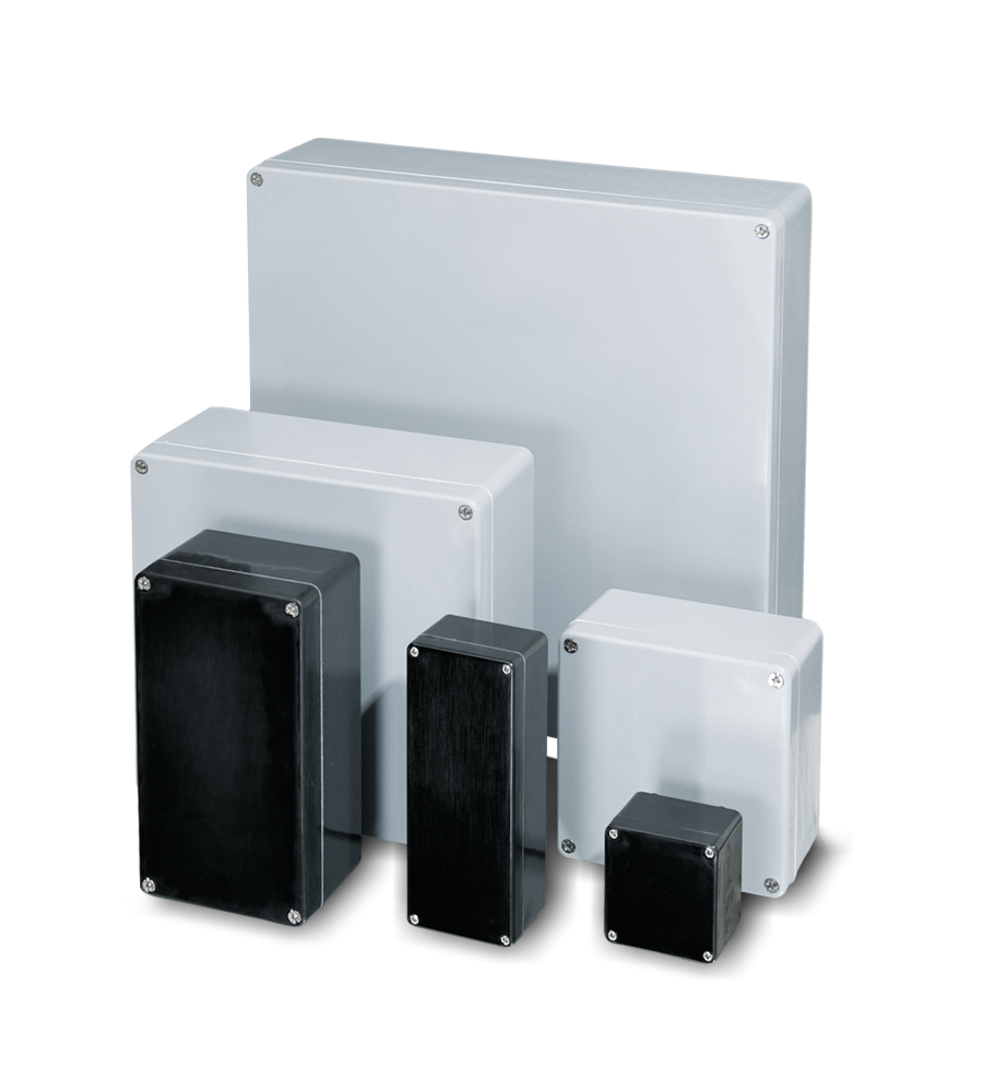 Glass reinforced polyester enclosure range (CP)