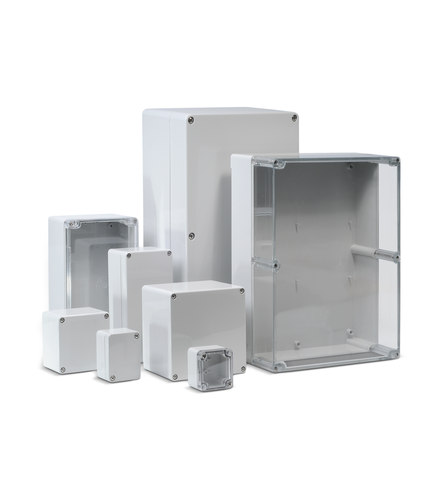ABS / Polycarbonate enclosure range (CT)
