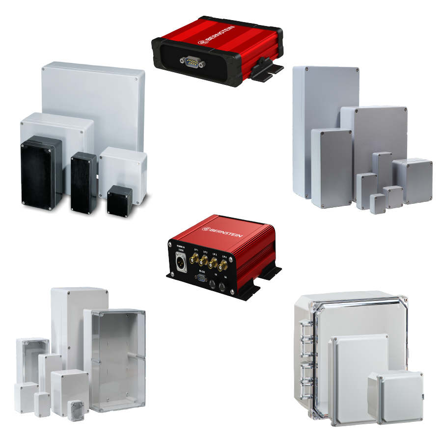 Industrial enclosure range