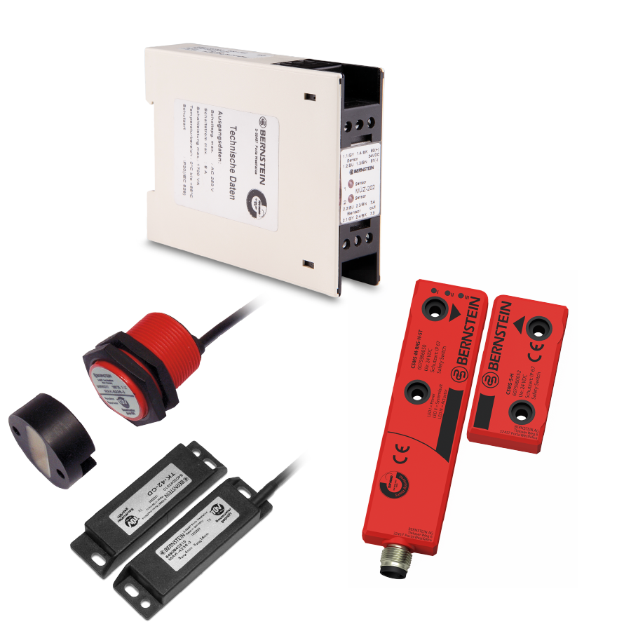 Contactless safety switch range